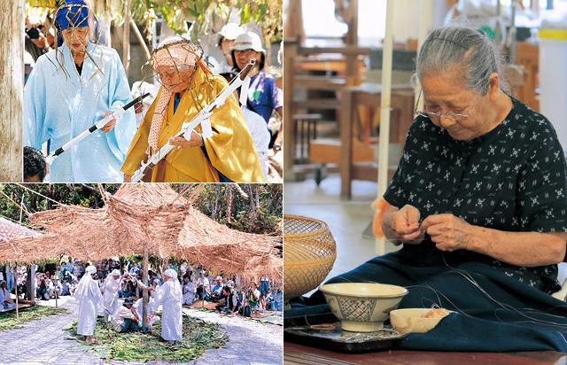 芭蕉布・ウンガミ・伝統の継承
