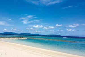 宜野座村の美しい海